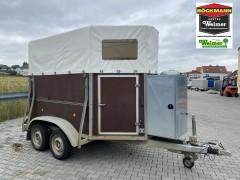 DUO Holz/Plane mit Sattelkammer #207175